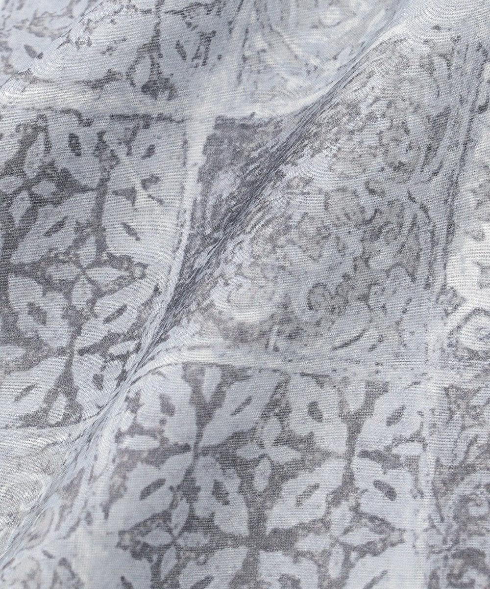 JOSEPH ABBOUD 【LUXURY COLLECTION】タイルモチーフ ストール グレー系5