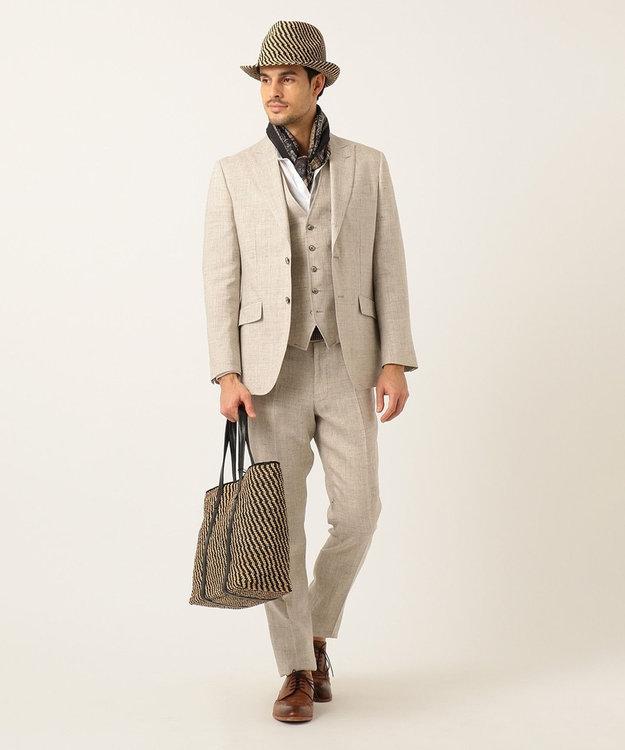 JOSEPH ABBOUD 【COLLECTION】ペイズリーパターン ストール