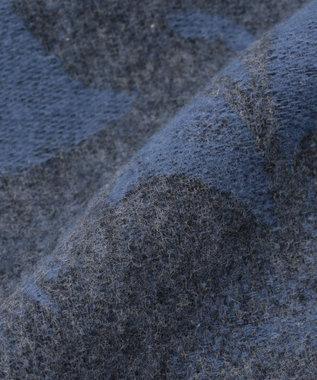 JOSEPH ABBOUD 【Made in Italy】PULCRA ストール ネイビー系7