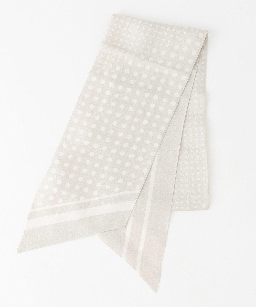 自由区 レギュラー ドット スカーフ ベージュ系5