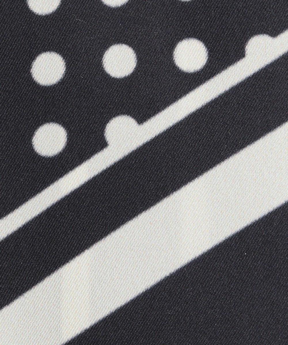 自由区 レギュラー ドット スカーフ ブラック系5