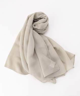 ICB Wool Silk ストール ベージュ系