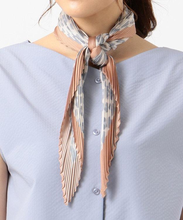 any SiS 【美人百花11月号掲載】レオパードプリーツ スカーフ