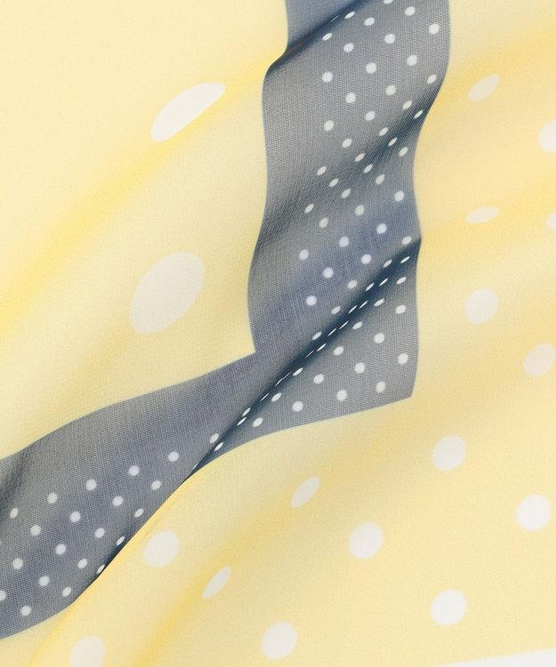 any SiS ランダムドットシフォン スカーフ