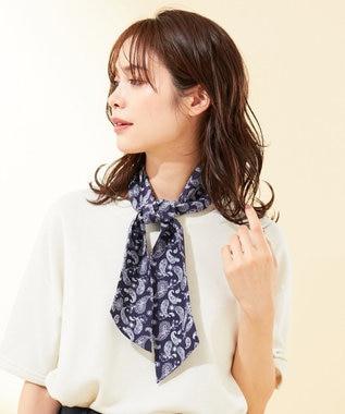 any FAM 【熱中症対策に】クール スカーフ ネイビー系6