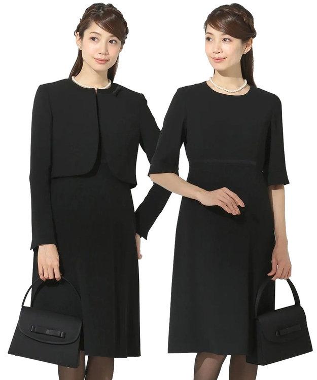 組曲 NOIR モランナ経二重 ジャケット+ワンピース