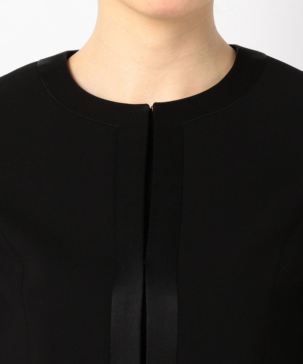 組曲 NOIR 【ストレッチ】綾二重 ジャケット+ワンピース