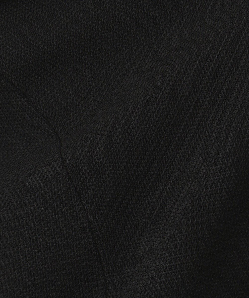 組曲 NOIR ガーシュストレッチバーズアイ ジャケット+ワンピース ブラック系