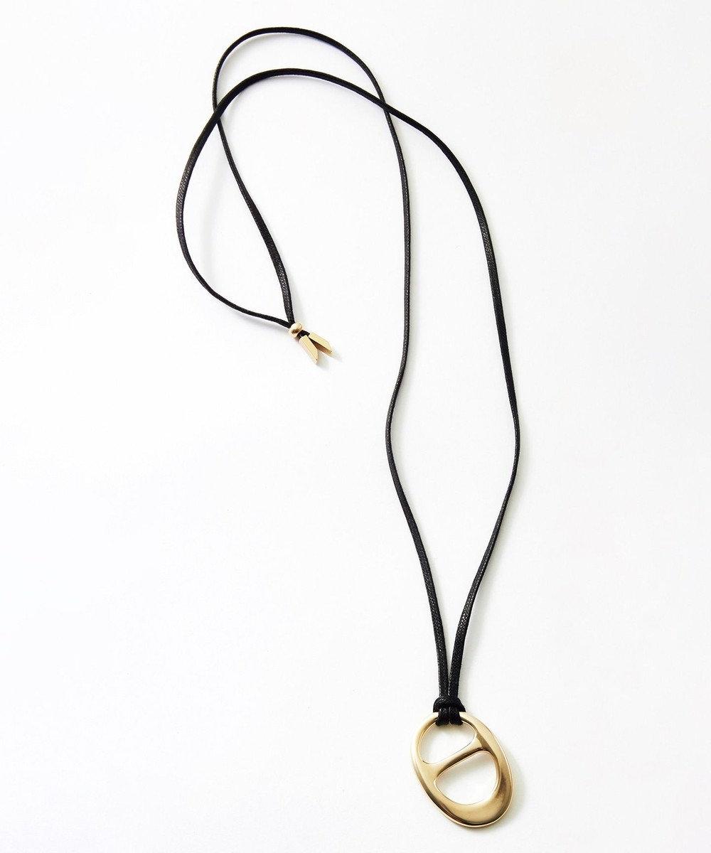 23区 【マガジン掲載】スカーフリング ネックレス(番号E94) ゴールド系