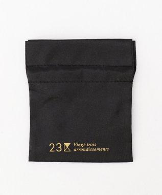 23区 パヴェMIXボール ネックレス アイボリー系