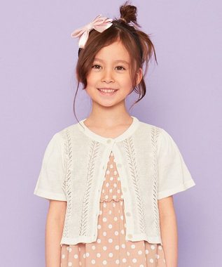 組曲 KIDS サテンリボンカチューシャ ピンク系