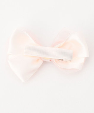 組曲 KIDS 【BABY雑貨】オーガンジーリボン ヘアバンド ピンク系