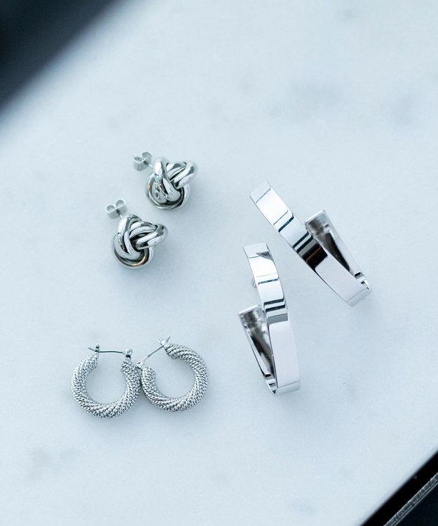 ICB 【Utilism】Complex Ring ピアス