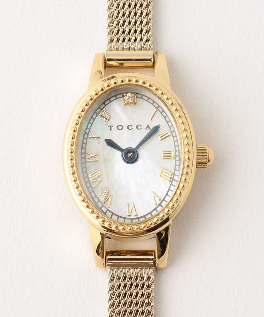 TOCCA 25th Anniversary Watch 腕時計 ローマ数字×ベージュ