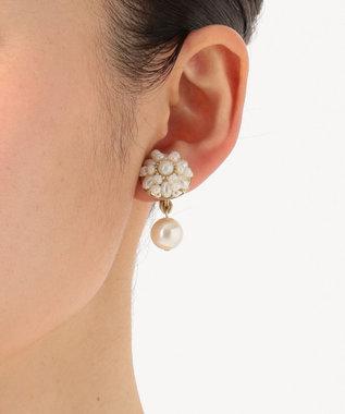 TOCCA WHITE GARDEN EARRINGS イヤリング ホワイト系