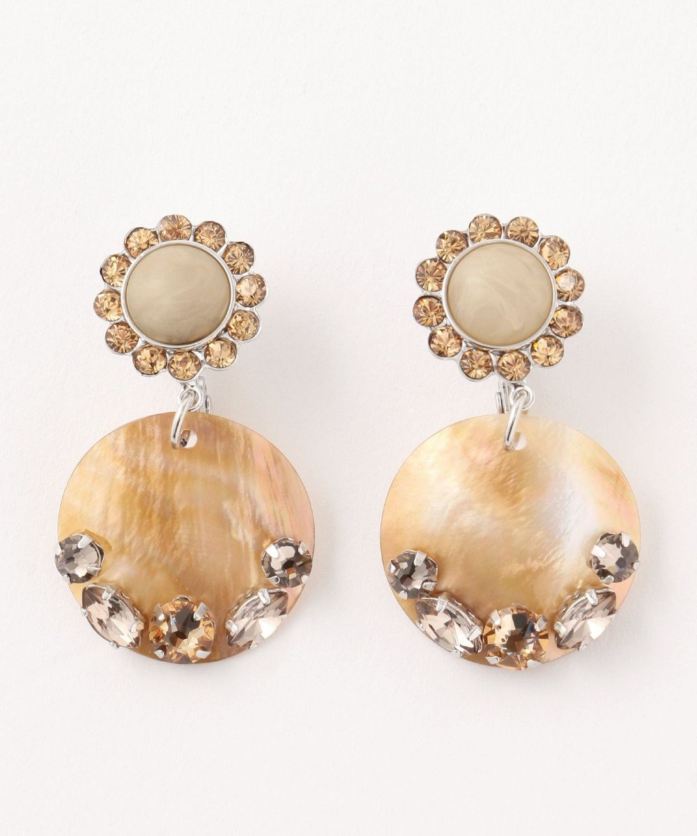 TOCCA 【TOCCA LAVENDER】BREEZE earrings イヤリング ブラウン系