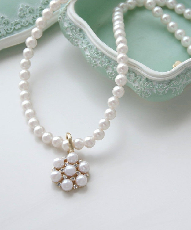 TOCCA JANES GARDEN PEARL NECKLACE ネックレス