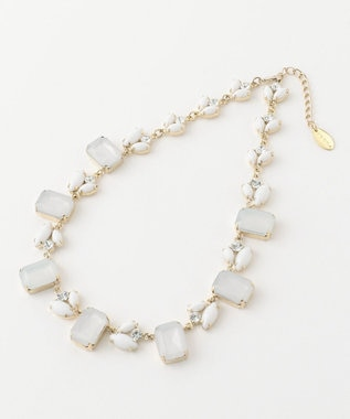 TOCCA SQUARE BIJOUX NECKLACE ネックレス ホワイト系
