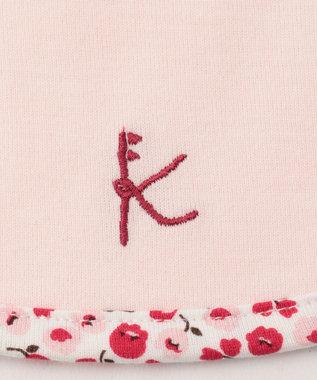 組曲 KIDS スズランプリント ビブ ピンク系5