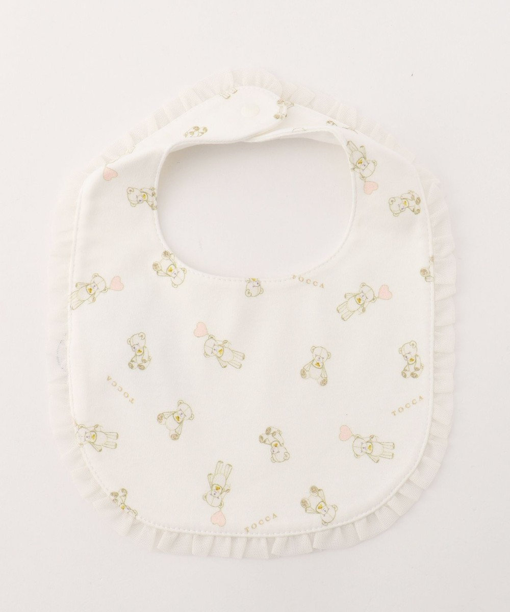TOCCA BAMBINI 【BABY雑貨】TOCCA BEAR ビブ アイボリー系5