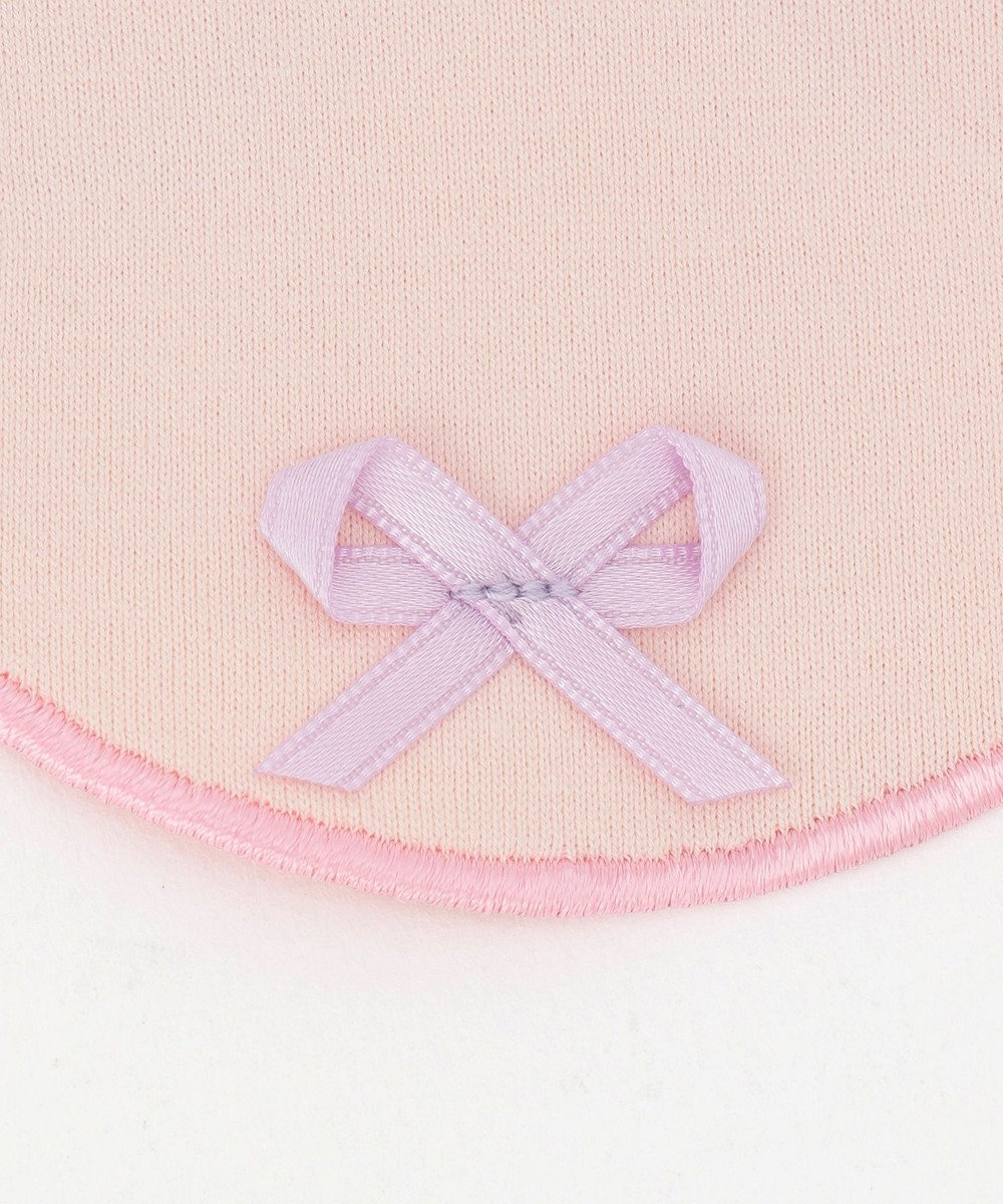 TOCCA BAMBINI 【BABY雑貨】スカラップリボン ビブ ピンク系