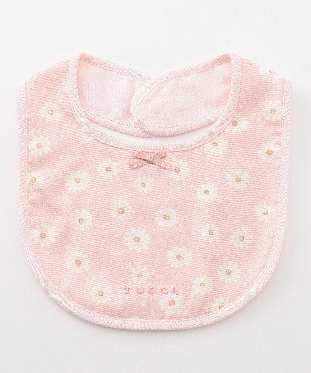 TOCCA BAMBINI 【BABY雑貨】スモールフラワーパーティー ビブ ローズ系5