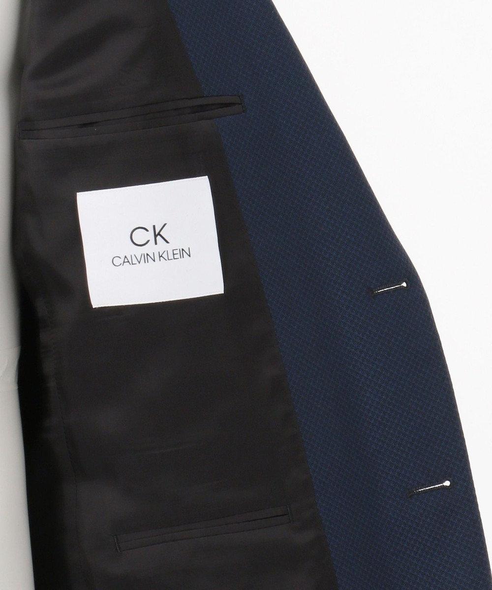 CK CALVIN KLEIN MEN 【スーツ】ミニスターウールマクレルドビー ジャケット ネイビー系