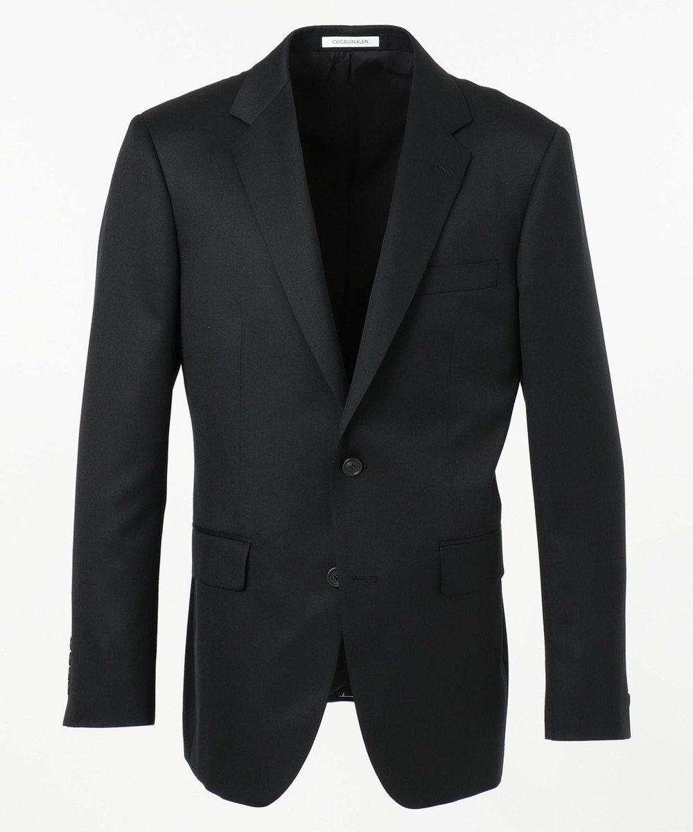 CK CALVIN KLEIN MEN 【スーツ】ミニスターウール ジャケット ブラック系