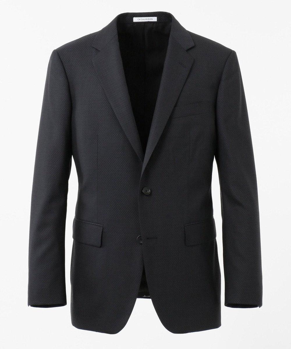 CK CALVIN KLEIN MEN 【スーツ】ミニスターウール 3Dダイヤドビー ジャケット グレー系
