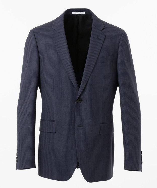 CK CALVIN KLEIN MEN 360パワードストレッチストライプ スーツジャケット