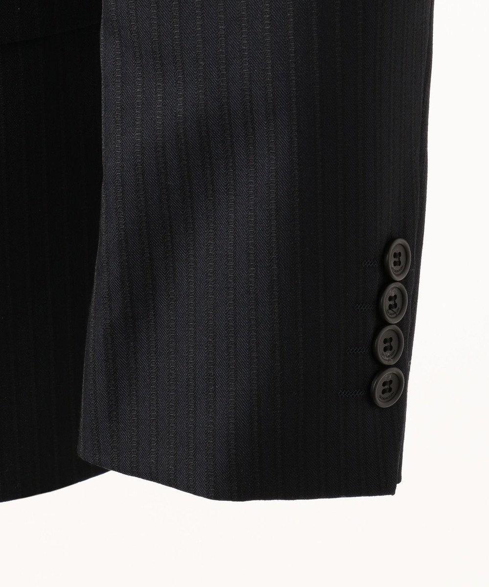 CK CALVIN KLEIN MEN 【2018AW】ミニスターウールヴィンテージストライプ スーツジャケット ネイビー系1
