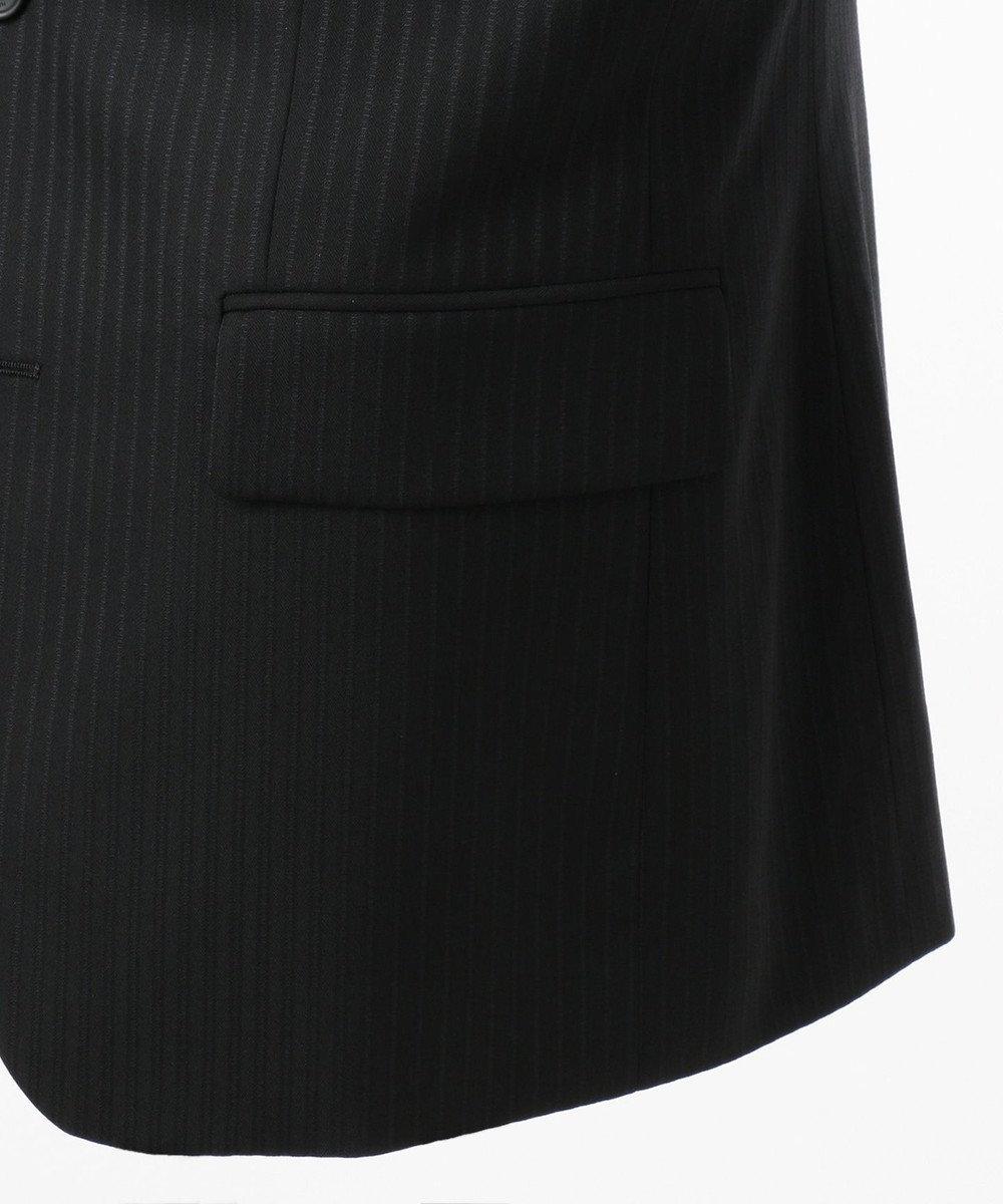 CK CALVIN KLEIN MEN 【2018AW】ミニスターウールヴィンテージストライプ スーツジャケット ブラック系1