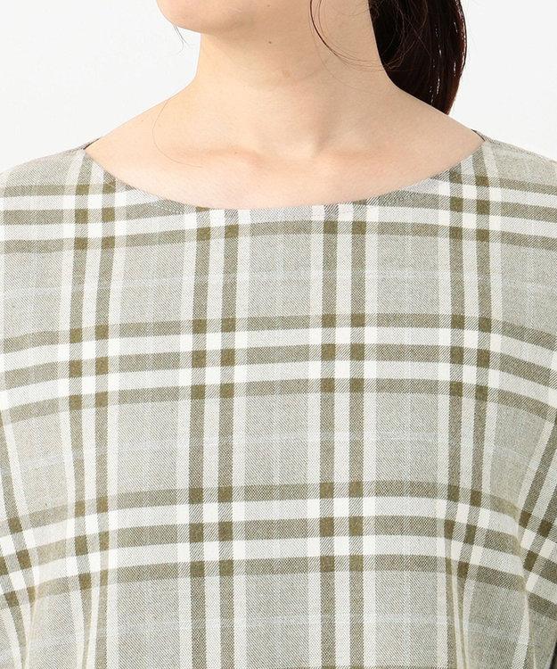 23区 【洗える】CANCLINI バックボタン シャツ
