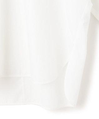 23区 S 【マガジン掲載】CANCLINI ボリュームスリーブ ブラウス(番号2F22) ホワイト系