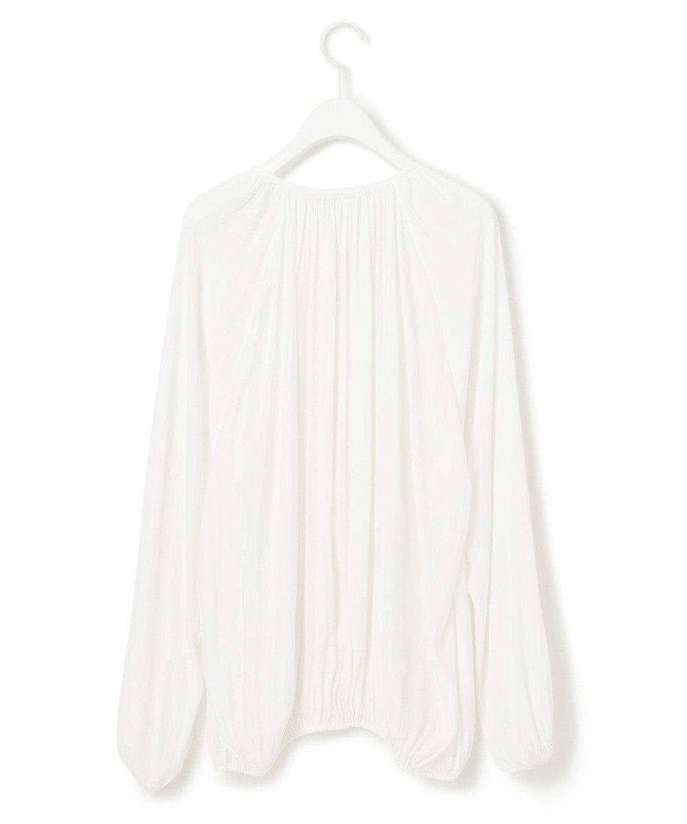 BEIGE, 【S-size】TALEK / 2WAYブラウス White