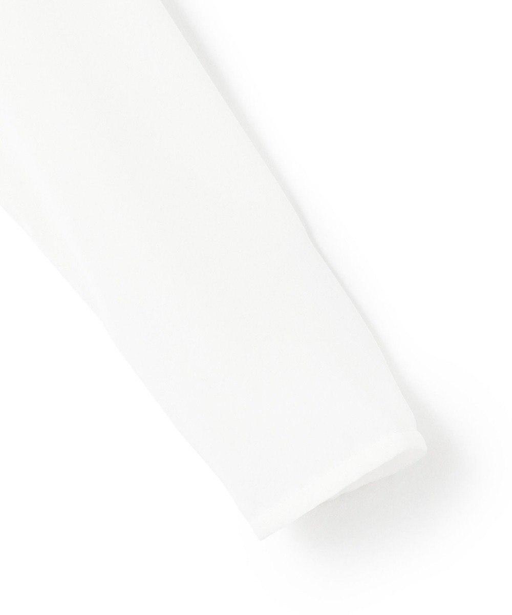 BEIGE, OLIVE / ロングスリーブブラウス White