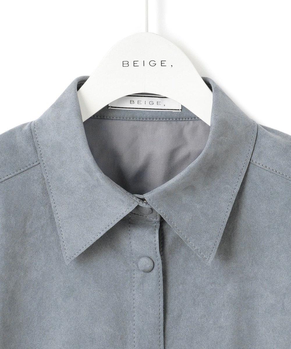 BEIGE, 【Oggi10月号掲載】MEDDON / ブラウス Cloud
