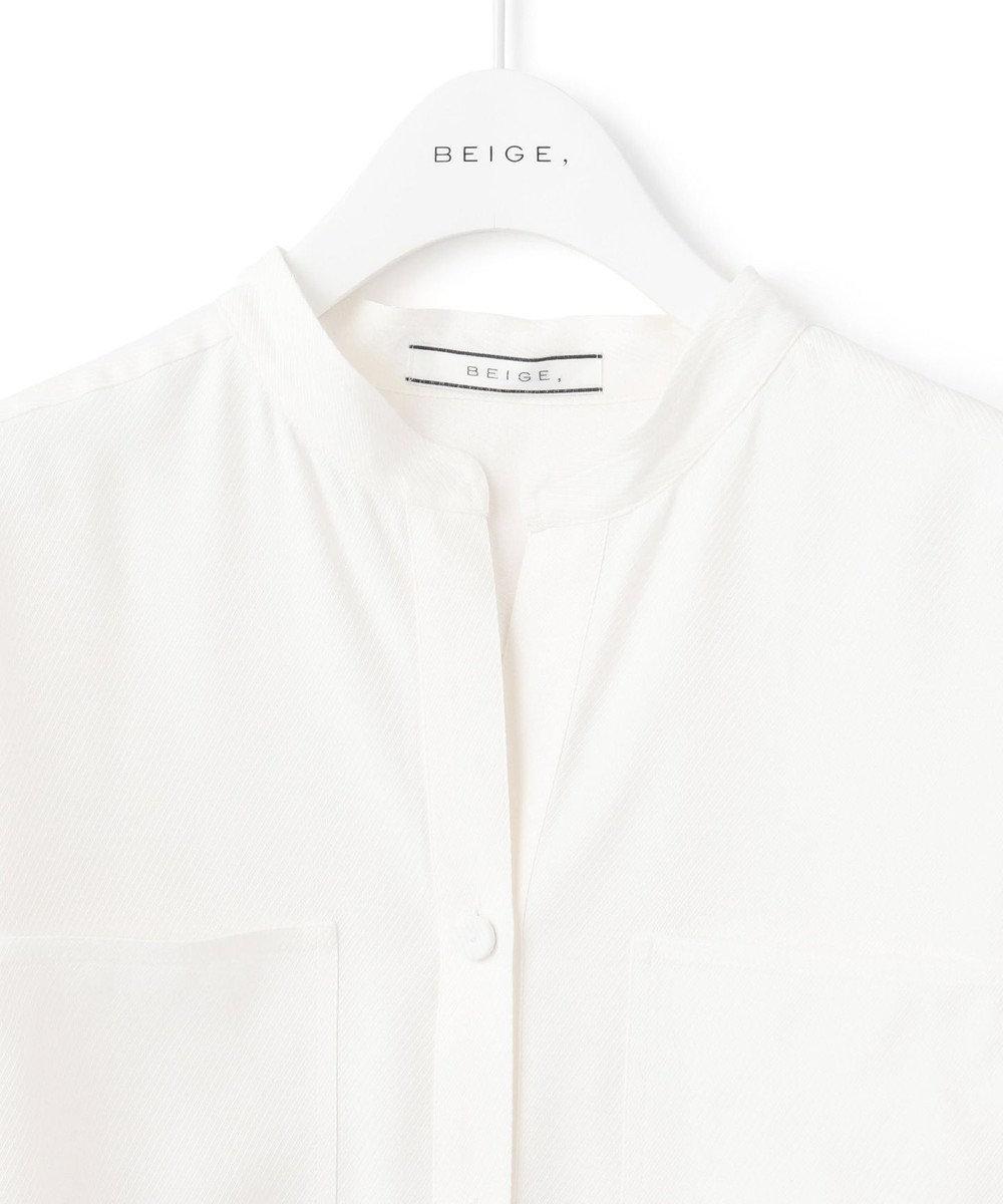 BEIGE, MEAVY / ブラウス White