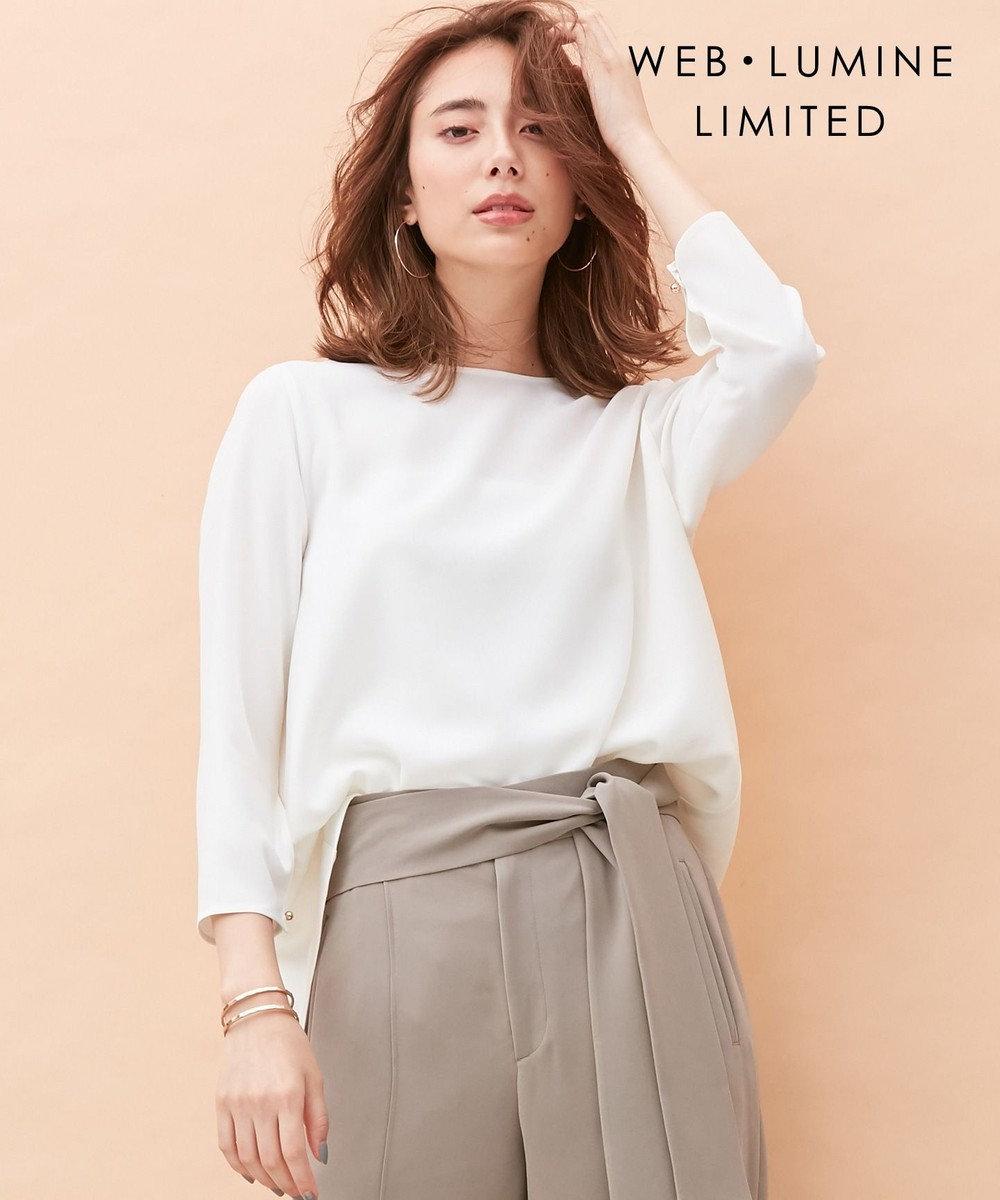 BEIGE, 【WEB・一部店舗限定】HATT / ブラウス [限定]White