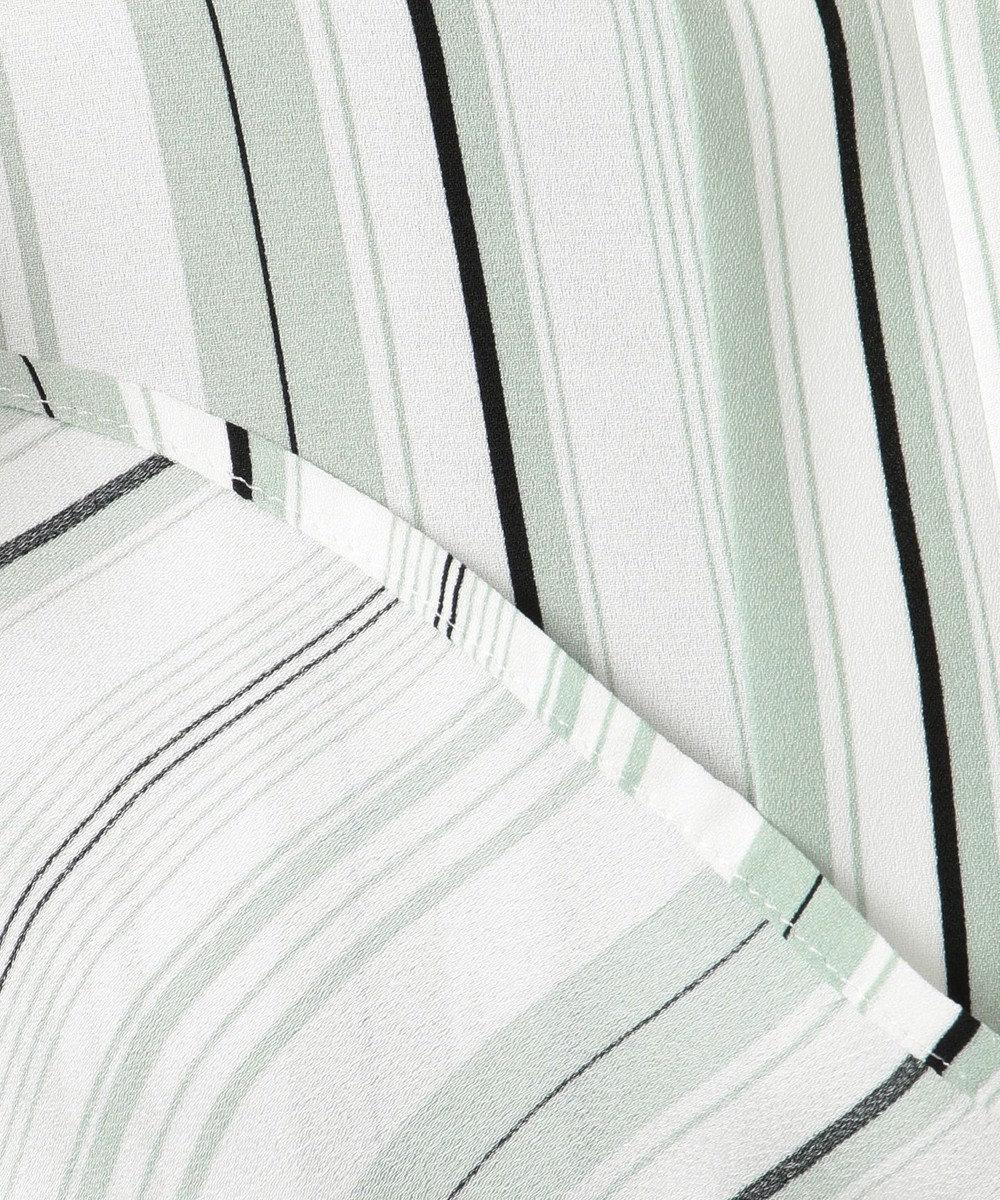 ICB Multi Stripe ブラウス ミントストライプ系