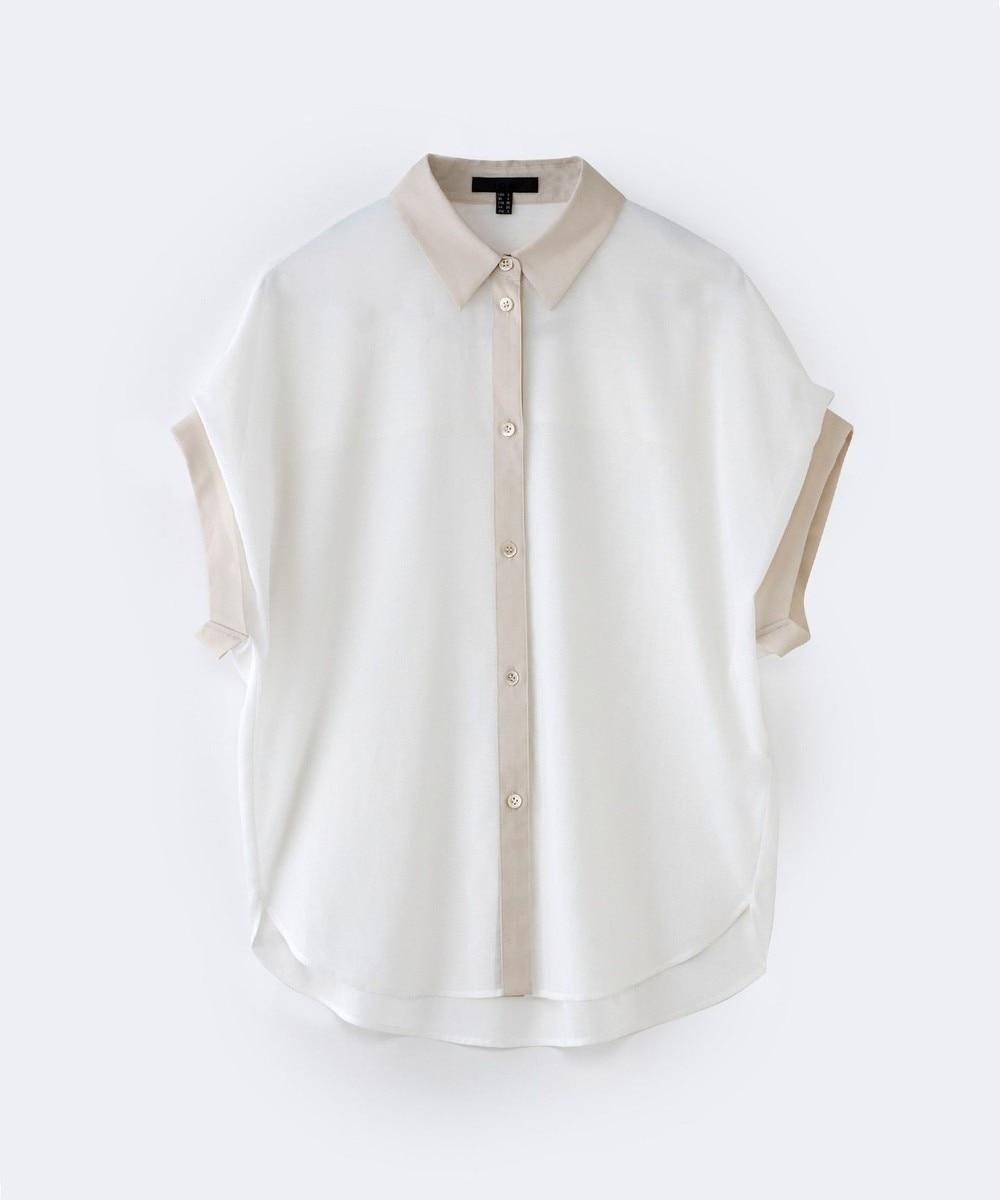 【オンワード】 ICB>トップス 【WEB限定カラー】Organza Cotton ブラウス ミント 2 レディース 【送料無料】