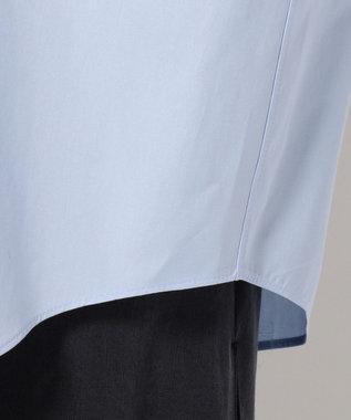 ICB 【Oggi6月号掲載】【洗える】Bare ブラウス サックスブルー系