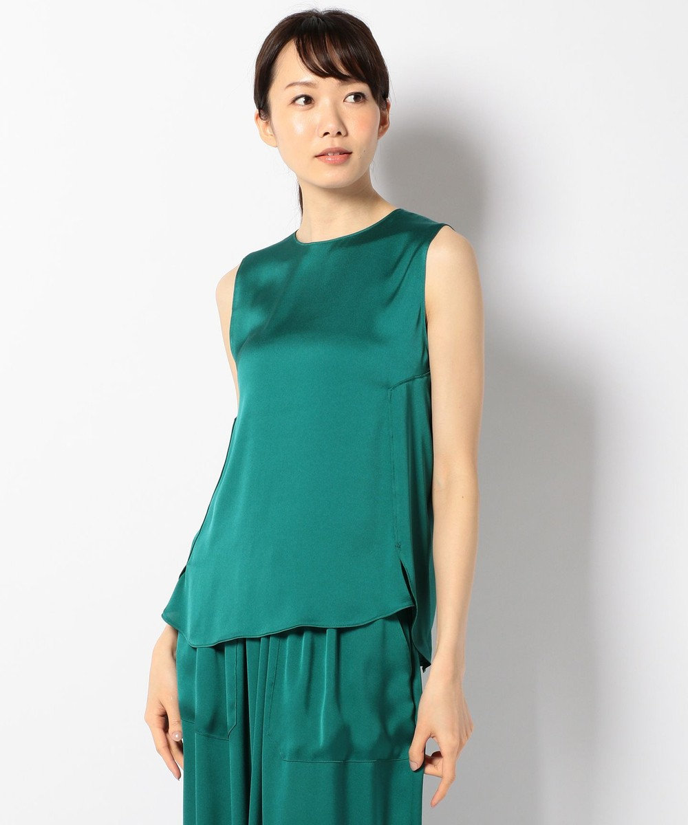 ICB 【セットアップ可 / 洗える】Aurora PT ブラウス グリーン系