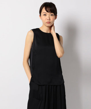 ICB 【セットアップ可 / 洗える】Aurora PT ブラウス ネイビー系