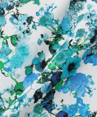 ICB 【セットアップ可 / 洗える】Bloom PT ブラウス ネイビー系5