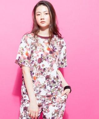 ICB 【セットアップ可 / 洗える】Bloom PT ブラウス ピンク系5
