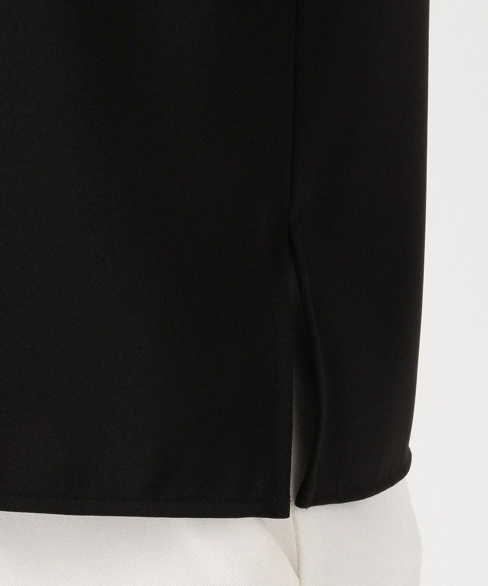 ICB 【セットアップ】Fied 半袖ブラウス ブラック系