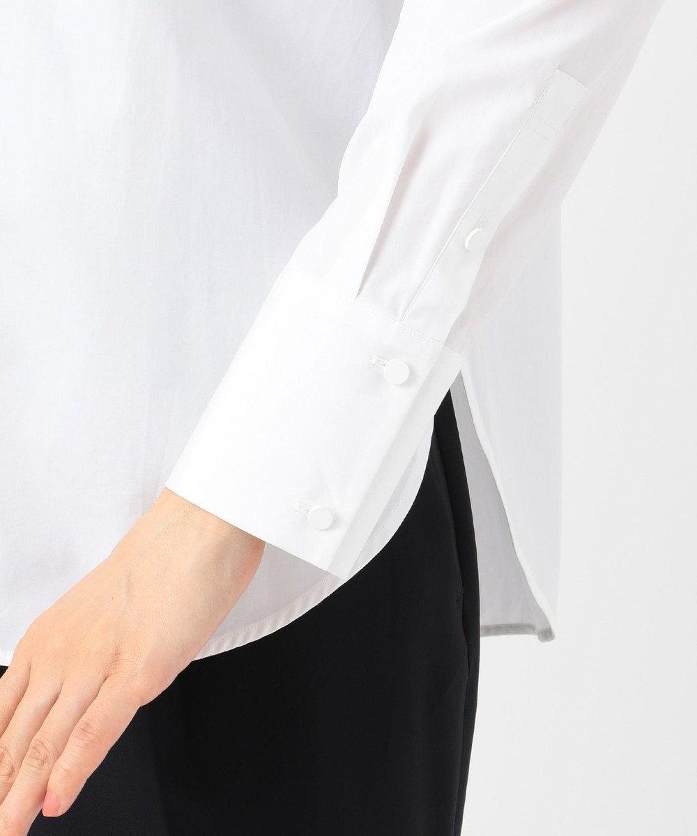 ICB 【mi-mollet掲載】Cotton Poplin ブラウス ホワイト系