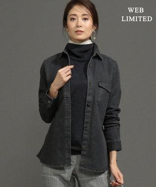 ICB 【WEB限定】Mid Denim シャツ ブラック系