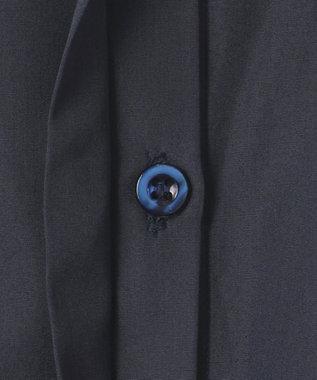 23区 【23区 lab.】ハイカウントブロード 七分袖デザイン ブラウス(番号S52) ネイビー系
